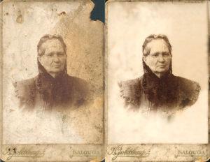 Ретушь и реставрация фотографий