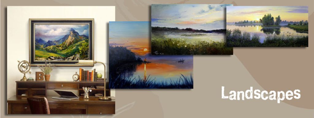 пейзаж-лучшая картина в комнату