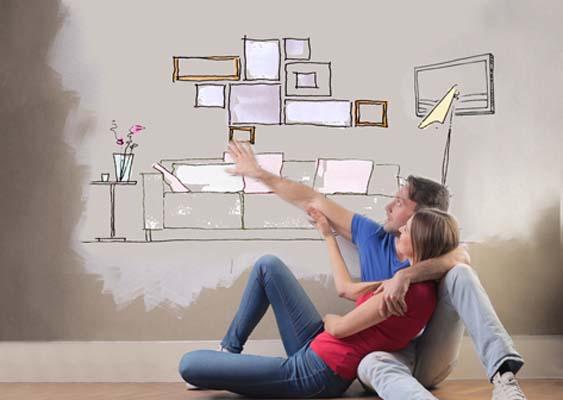 Выбираем стену, чтобы правильно развесить картины в квартире.