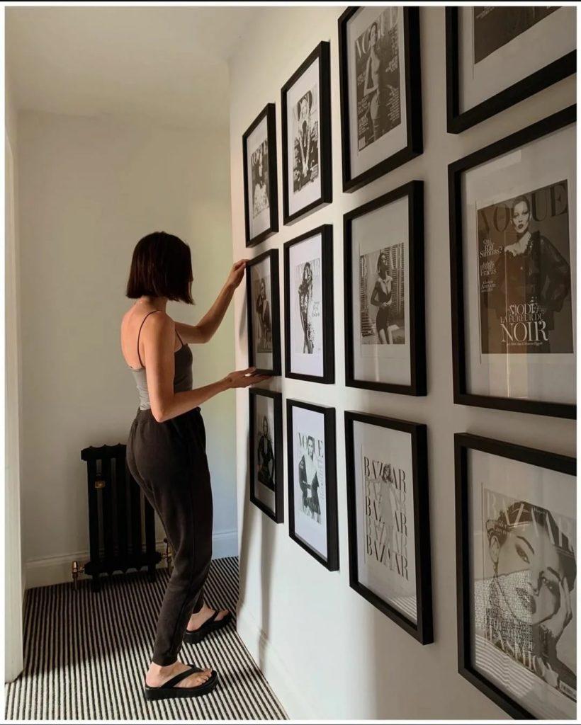 Как повесить картины на стене красиво. Цветовые решения в интерьере.